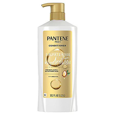 Pantene Pro-V Sulfate Free Hydration Conditioner with Argan Oil (38.2 fl. oz.)