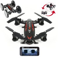 Deals on WonderTech Skywheeler App Control Drone and RC Car Combo