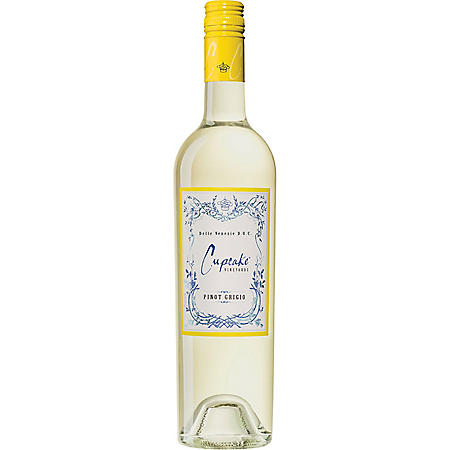 Cupcake Vineyards Pinot Grigio White Wine (750 mL)