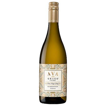 AVA Grace Vineyards Chardonnay White Wine (750 ml)