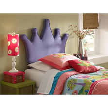 Princess Crown Headboard, Twin Size