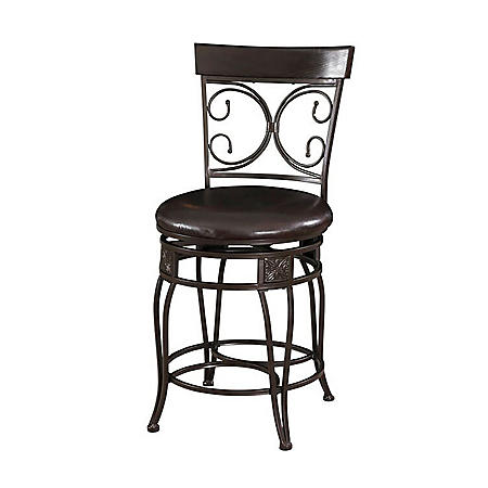 Big & Tall Scroll Bar Stool (Assorted Sizes)