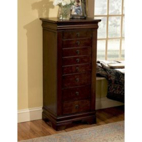 Louis Philippe Jewelry Armoire, Marquis Cherry