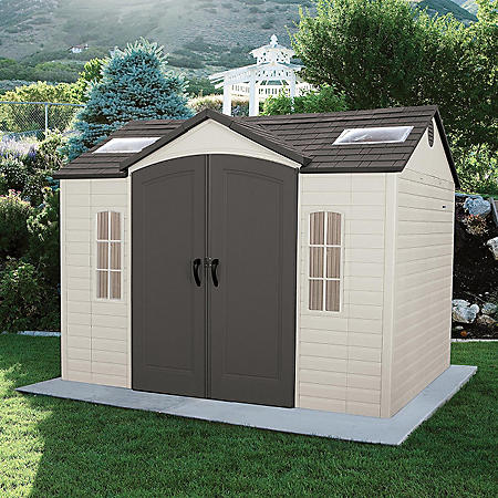 Lifetime 10' x 8' Outdoor Storage Shed