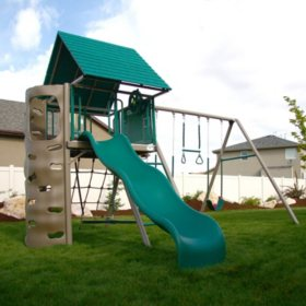 Lifetime A-Frame Playset - Earthtone