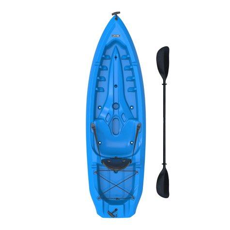 Lifetime® 8' Adult Kayak w/ Paddle & Backrest - Blue