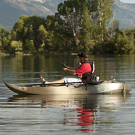 Lifetime Sport Fisher Angler 10' Kayak (Paddles Included)