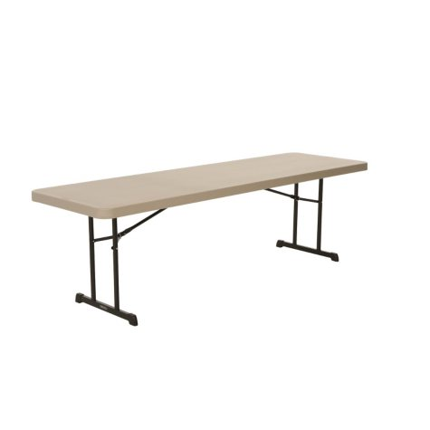 Lifetime 8' Professional Grade Folding Table, Putty - 18 pack