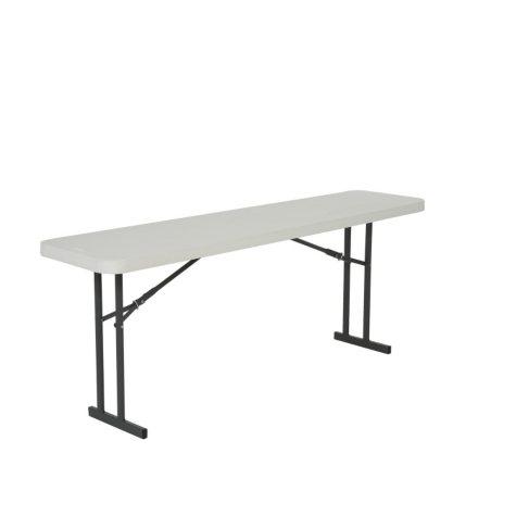Lifetime 6' Folding Seminar Table, White Granite - 5 pack