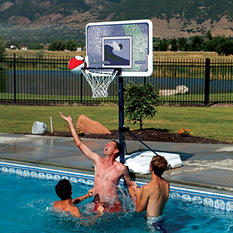 "Lifetime 44"" Impact Poolside Basketball System"