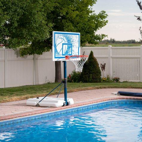 "Lifetime 44"" Impact Poolside Basketball System"