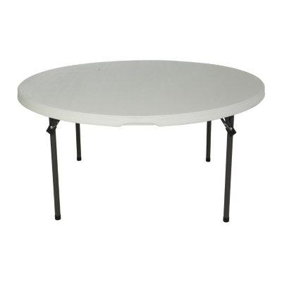 Lifetime 60 Round Commercial Grade Nesting Folding Table Choose A Color Sam S Club