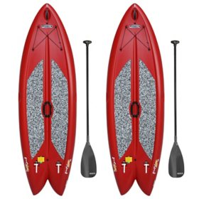 "Lifetime Freestyle XL 9'8"" Stand-Up Paddleboard - 2 Pack (Paddles Included)"