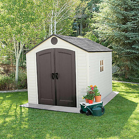Lifetime 8' X 10' Outdoor Storage Shed by Lifetime