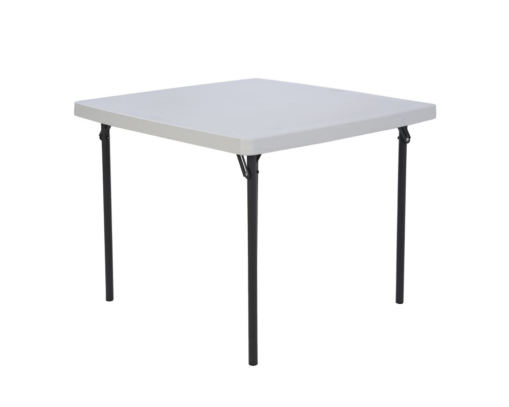 Lifetime 37 Commercial Grade Card Table, White Granite
