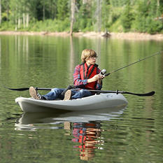 Lifetime Hydros Angler Kayak (Sandstone)