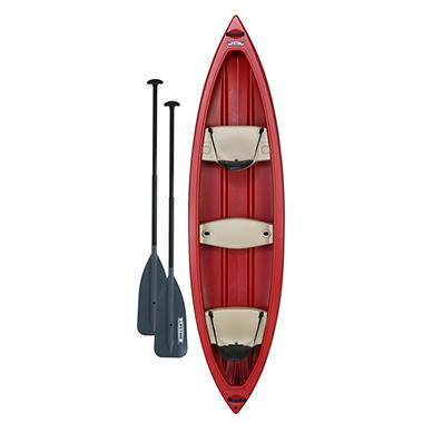 Lifetime Kodiak Canoe with Paddles