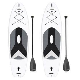 Lifetime Horizon Paddleboard, 2-Pack (White Granite)