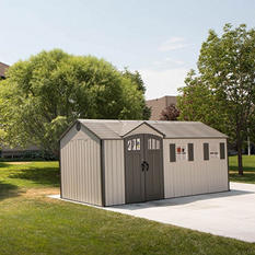 Lifetime 17.5' x 8' Outdoor Storage Shed