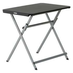 "Lifetime 30"" Personal Table, Black"