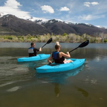 Lifetime Payette 116 Kayak, 2-Pack (Glacier Blue)