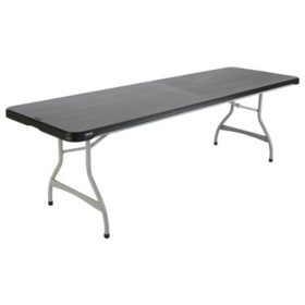 Lifetime 8' Commercial Grade Folding Table, Select Color