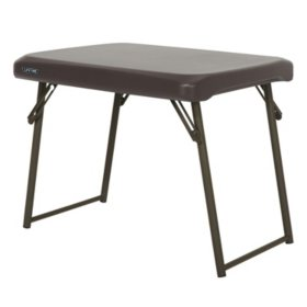 Lifetime Compact Light Commercial Table, Brown