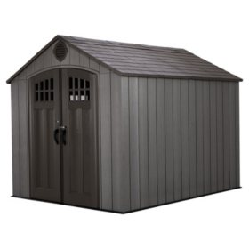 Lifetime 8' x 10' Outdoor Storage Shed - Model # 60286