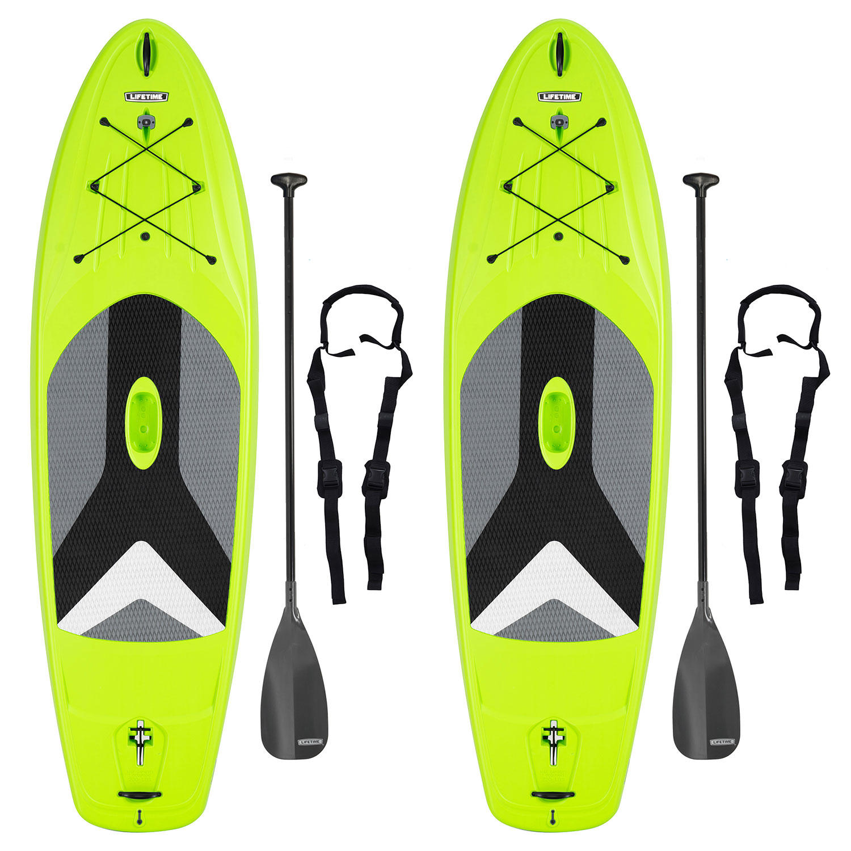 Lifetime Horizon 10′ Stand-Up Paddleboard + Paddles – 2 Pack