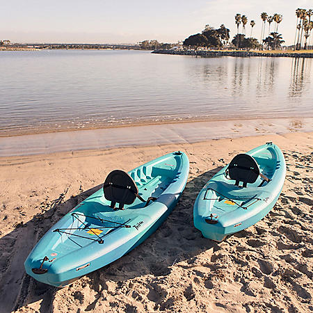 Lifetime Triton 10' Sit-On-Top Kayak - 2 Pack (Paddles Included)
