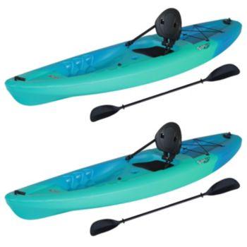 2-Pk Lifetime 90894 Triton 100 Sit-On-Top Kayak