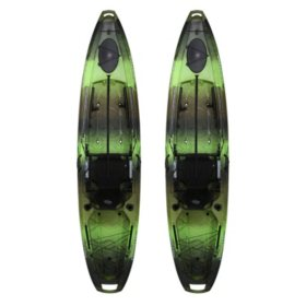 Emotion Stealth Pro Angler 11 8 Fishing Kayak 2 Pk