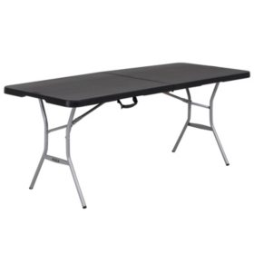 Lifetime 6-Foot Fold-In-Half Table (Light Commercial), 80788