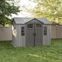 Lifetime 10' x 8'  Rough Cut Outdoor Storage Shed