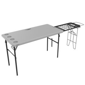 Lifetime 4-Foot Tailgate Table (Light Commercial), 280813