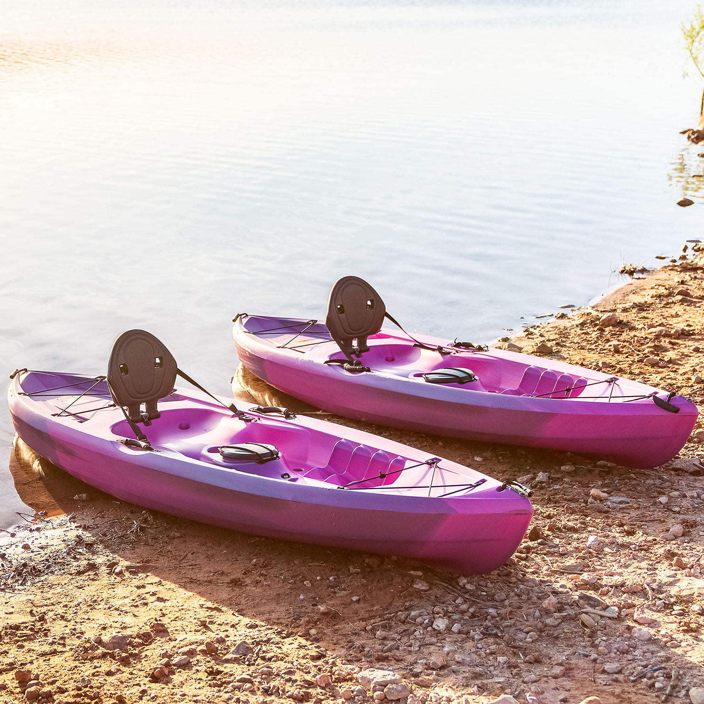 Lifetime Tamarack 100 Sit-On-Top Kayak – 2 Pack +Paddles