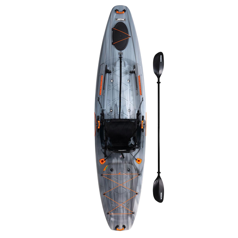 Lifetime Yukon Angler 116 Fishing Kayak with Paddle
