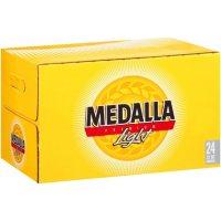 Medalla Premium Light Beer (12 fl. oz. bottle, 24 pk.)