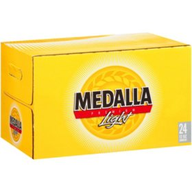 Medalla Premium Light Beer (12 fl. oz. bottle, 24 pk.)