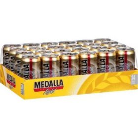 Medalla Premium Light Beer (10 fl. oz. cans, 24 pk.)