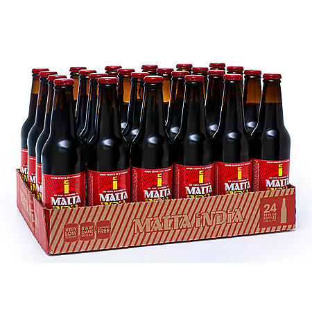 Malta India Malt Beverage (12oz bottles / 24pk)