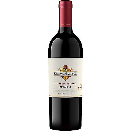 Kendall-Jackson Vintner Reserve Zinfandel Red Wine (750mL)