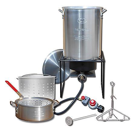 King Kooker Portable Propane Outdoor Deep Frying/Boiling Package