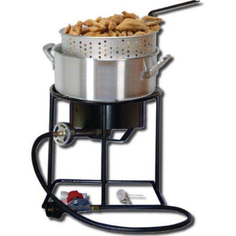 King Kooker Portable Propane Outdoor Fish Fryer Package
