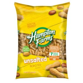 Hampton Farms Unsalted In-Shell Peanuts (5lbs)