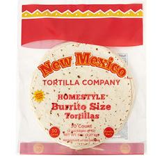 """New Mexico Tortilla Company 10"""" Burrito-Size Tortillas (30 ct.)"""