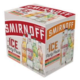 Smirnoff Ice Party Pack (11.2 fl. oz. bottle, 12 pk.)