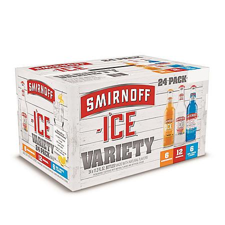 SMIRNOFF ICE BEST 24 / 11.2 OZ BOTTLES
