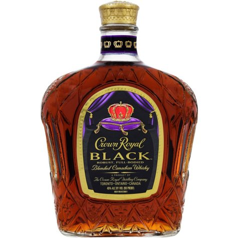 Crown Royal Canadian Black Whisky (750ML)