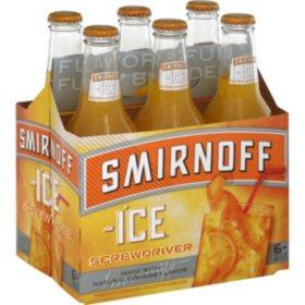 Smirnoff Ice Screwdriver (11.2 fl. oz. bottle, 6 pk.)